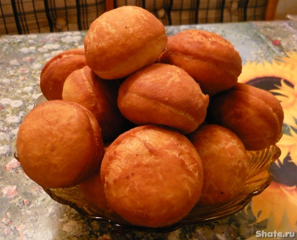 Пончики со сладкой  начинкой