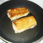 """Горячий бутерброд """"Крок-мадам"""""""