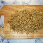 Баветте с грибным соусом