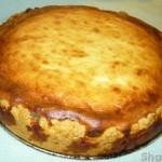 Творожный двухслойный пирог с маком