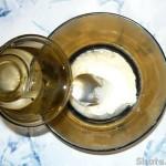 Кабачок фаршированный грибным жульеном