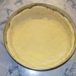 Творожный пирог со сливочным пудингом и вишней
