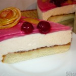 Торт с суфле из зефира
