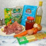Спагетти с соусом из фрикаделек