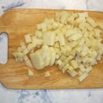 Окрошка по-домашнему с колбасой