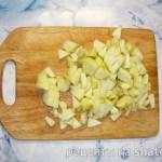Оладушки с яблоками и корицей