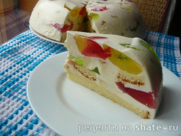 Фруктовый торт - рецепты с фото на Повар.ру (59 рецептов ...