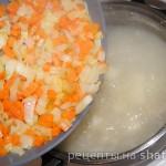 Картофельный суп со штрулями