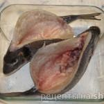 Дорадо с жульеном из морепродуктов