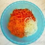 Салат из моркови с болгарским перцем