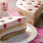 бисквитный торт с кремом из сливочного сыра