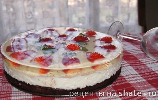 Крем из маскарпоне и желатина для торта