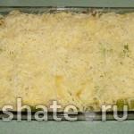 курица с картофелем и кабачком в сливках